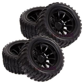 RC 1/10 Foam Monster Truck Bigfoot Tyre Tyres Tires & Wheel Rims black