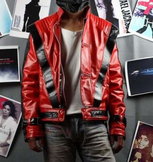 Michael Jackson Thriller Red Jacket MJ Costume replica MJTJR
