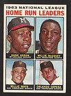 1969 TOPPS BASEBALL 4 CARD LOT HANK AARON WILLIE MAYS PETE ROSE