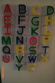 LEAP FROG FRIDGE PHONICS Replacement CAPITAL LETTERS Alphabet Magnet