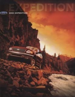 2000 Ford Expedition Sales Brochure Book