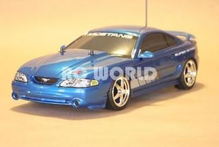 TAMIYA 1/10 RC FORD MUSTANG COBRA R CAR RTR 2.4GHZ *MINT*