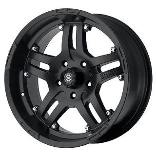 17x9 American Racing ATX Artillery Black Wheel/Rim(s) 5x139.7 5 139.7