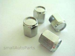 SILVER* tire wheel rims valve air stem CAPS Covers (Fits Alpina B7