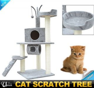 "Newly listed New 42"" Pet Furniture Cat Scratcher Tree Condo House"