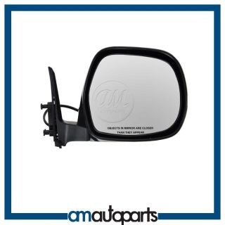NEW POWER HEATED BLACK PASSENGER SIDE VIEW MIRROR FOR TOYOTA 4RUNNER
