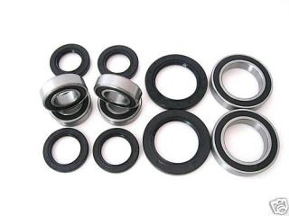 All Wheel and Axle Bearings Seals Kit Yamaha Raptor 660 YFM660R 2001