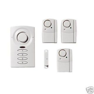 GE Wireless Home Door Window Security Alarm System LOUD Fast Ship NEW