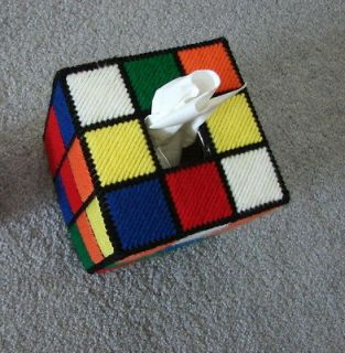Tissue Box Cover & Free Magnet as seen on  Big Bang Theory Rubix