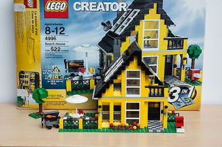 AWESOME LEGO CREATOR 4996 BEACH HOUSE * RARE DISCONTINUED 100%