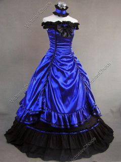 Southern Belle Civil War Lolitta Ball Gown Wedding Dress Reenactment