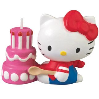 Sanrio Hello Kitty Molded Birthday Cake Candle