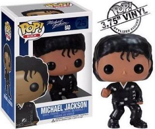 Michael Jackson Official MJ Merchandise Bad Pop Vinyl Figure   New