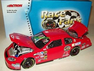 Chevy Monte Carlo 2005 Red Personalized Program Car 1/24 NASCAR Custom