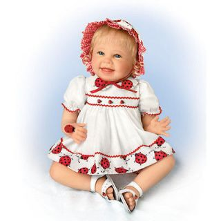 Tiny Tickles Ashton Drake Baby Doll by Bonnie Chyle IN STOCK NOW