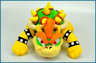 New Super Mario Bros BOWSER Plush Doll Toy Collectible FIGURES Lovely