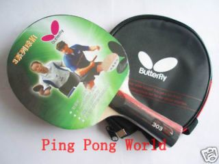 Butterfly Table Tennis Racket TBC303, NEW