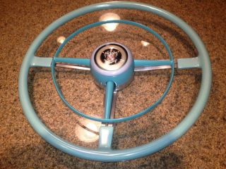 1948 53 BUICK SPECIAL STEERING WHEEL CUSTOM METAL FLAKE RESTORED