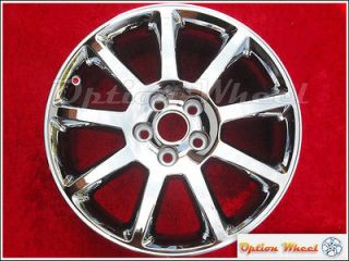 Single 18 Cadillac STS OEM Chrome Factory Wheel Rim CTS DTS DHS