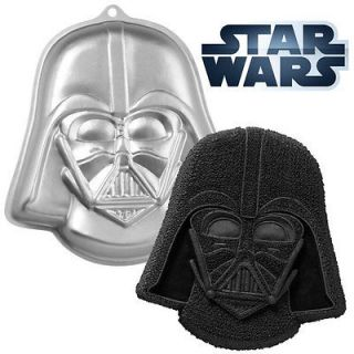 Star Wars Darth Vader Shaped Novelty Birthday Party Cake Pan