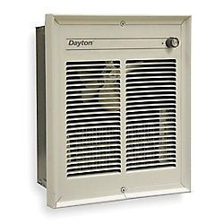 New Electric Wall Heater   1 phase, 208/240 Volt, 6826 BTUH   3WU90 D