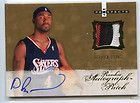 09 FLEER HOT PROSPECTS JERSEY PATCH ROOKIE RC AUTO #/399 DERRICK BYARS
