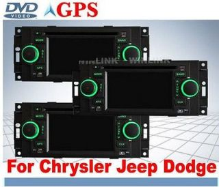 300c Jeep Dodge In Car DVD player GPS Sat Nav Navigation IPOD Stereo