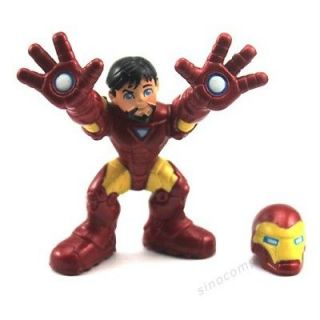 FREE SHIP MARVEL SUPER HERO SQUAD IRON MAN REMOVABLE HELMET The