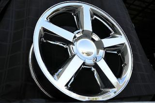 20 Chrome LTZ Chevrolet Wheels GMC New Chevy Silverado Tahoe Suburban