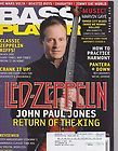 BASS PLAYER NOVEMBER 1994 CHRIS SQUIRE JOHN PAUL JONES