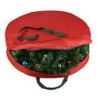 Elf Stor Supreme Canvas Holiday Christmas Wreath Storage Bag For 30