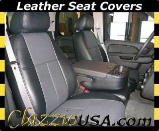 Chevrolet Chevy Tahoe Truck Clazzio Leather Seat Covers 2 Row (2007