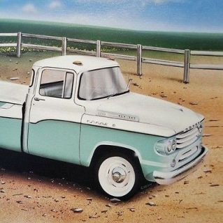 Dodge SWEPTSIDE PICKUP TRUCK 1957 1958 1959 315__6 Old Dealer ART