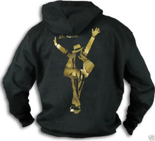Kids Michael Jackson Foiled Hoody Hooded Top Girls Boys to fit ages 3