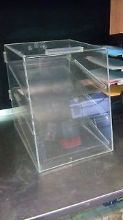 COOKIE DONUT COUNTERTOP TABLE TOP VENDING DISPLAY CASE CLEAR NICE