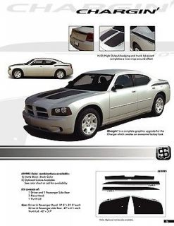 FOR DODGE CHARGER GRAPHICS KIT 0995 Decals Stripes Emblems Trim 2006