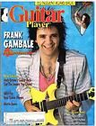 Guitar Player Magazine (June 1988) Frank Gambale / Ted Nugent / Tony