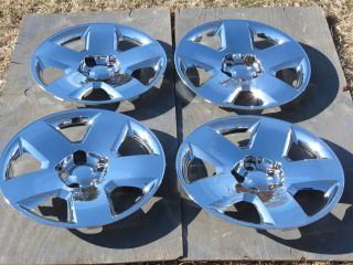 DODGE CHARGER DODGE MAGNUM WHEEL SIMULATORS CHROME 17 (4) SET OF 4