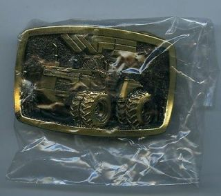 1983 White Farm Equipment belt buckle   Tractor 4 270    MINT still