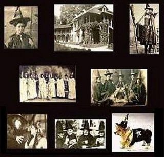 MINI Dollhouse PHOTOS~ ACTUAL WITCHS~ Haunted House~ HALLOWEEN~ GOTH