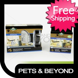 PETSAFE PAWZ AWAY INDOOR DOG FENCE PET BARRIER 2 ZONES