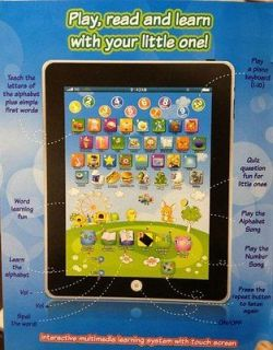 COMPUTER iPAD CHILDREN CHILD KIDS EDUCATIONAL PLAY READ GAME TOY
