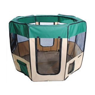 Newly listed New 57 Green Dog Pet Puppy Kennel Exercise Pen Playpen