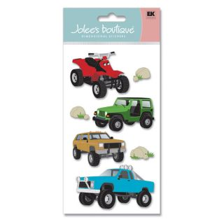 7PC OFF ROADING Jeep Truck ATV 4 Wheeler EK SUCCESS 3D Stickers NIP