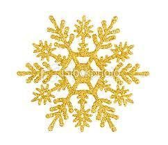 20 WATER SLIDE NAIL DECALS CHRISTMAS gold snowflake 5/8 inch