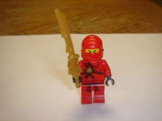 LEGO NINJAGO Red Ninja KAI Minifigure with dragon sword new