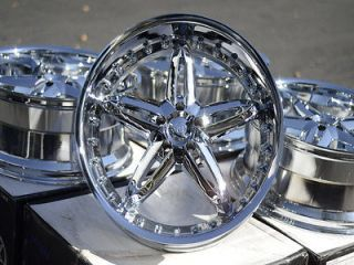 20 New Chrome VCT Wheels Rims Chrysler 300C Dodge Charger Rwd