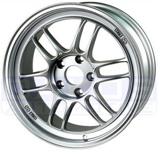 ENKEI RPF1 Wheels 18x10.5 5x114.3 15mm Offset Silver Rims 379 8105