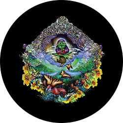 Musical Frog   Custom Spare Tire Cover   Wheel Cover