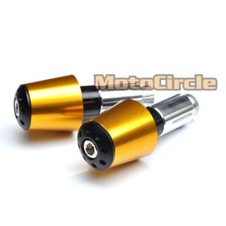 Gold Bar End Sugo Suzuki GSXR 600 750 1000 2006 2007 2008 2009 2010